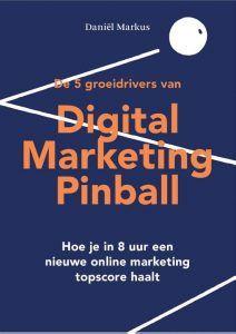 Digital Marketing Pinball boek